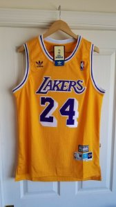 Camisa Los Angeles Lakers -  24 kobe Bryant - Hardwood Classics