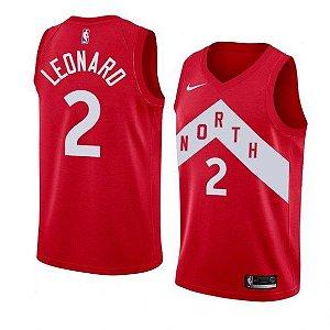 Camisa Toronto Raptors - 2 Kawhi Leonard - Pronta entrega