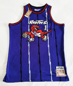Camisa Toronto Raptors - 1 Tracy McGrady - Mitchell and ness - Pronta entrega