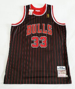Camisa Chicago Bulls - 33 Scottie Pippen - Mitchell and ness - Pronta entrega