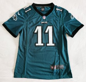 Camisa Philadelphia Eagles - 11 Carson Wentz - Feminina - Pronta entrega