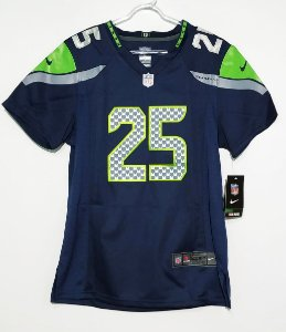 Camisa Seattle Seahawks - 25 Richard Sherman - Feminina - Pronta entrega