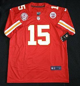 Camisa Kansas City Chiefs - 15 Patrick Mahomes - Pronta Entrega