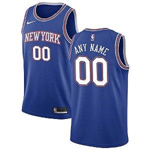 Camisa New York Knicks - 9 R.J. Barrett - com personalização de nome e número