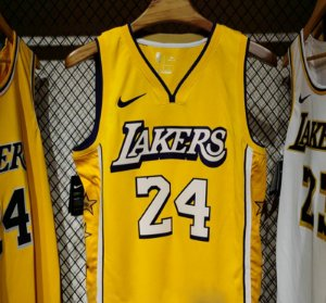 Camisa los Angeles lakers - 23 LeBron James - 24  kobe bryant