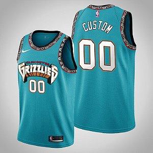 Camisa Vancouver Grizzlies - com personalização de nome e número