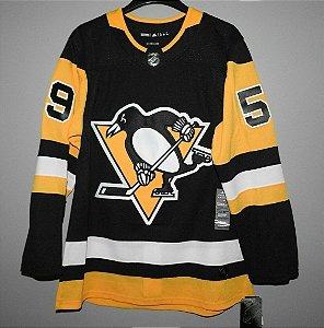 Camisa Pittsburgh Penguins - 87 Sidney Crosby - 58 Kris Letang