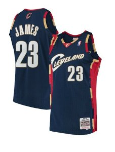 Camisa Cleveland Cavaliers - 23 Lebron James - Mitchell & Ness