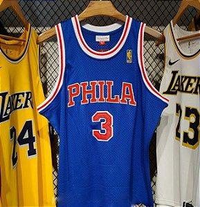 Camisa Philadelphia 76ers - Mitchell & Ness - 3 Allen Iverson
