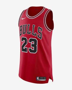 Camisa - Chicago Bulls - Jersey Icon and Association Edition Authentic - #23 Michael Jordan - #8 Lavine