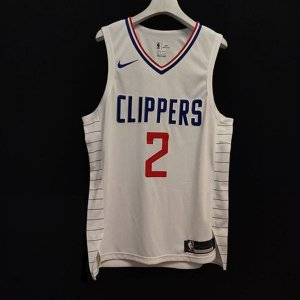 Camisa - Los Angeles Clippers - Association and Icon Edition - Authentic Jersey - 2 Kawhi Leonard - 13 Paul George