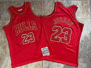 Camisa Chicago Bulls - Mitchell & Ness - 23 Michael Jordan