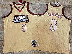 Camisas 3 Allen Iverson -  Philadelphia 76ers - Mitchell & Ness