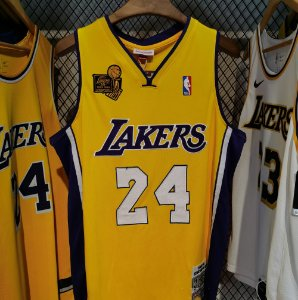 Camisa Los Angeles Lakers - #24 kobe Bryant - mitchell and ness  09 / 10