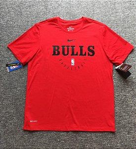 Camisa Chicago Bulls com mangas