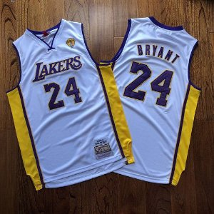 Camisa Los Angeles Lakers - #24 kobe Bryant - mitchell and ness  - finais 09 / 10