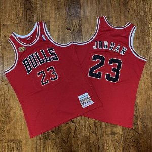 Camisa Chicago Bulls - 23 Michael Jordan - 33 Scottie Pippen - 91 Dennis Rodman -  Mitchell & Ness - Finais 97 / 98