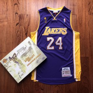 Camisa Los Angeles Lakers - #24 kobe Bryant - mitchell and ness  - finais 08 / 09