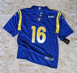 Camisa Los Angeles Rams - 16 Jared Goff - Pronta Entrega