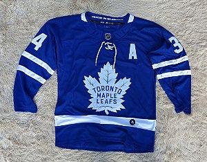 Camisa Toronto Maple Leafs - 34 Auston Matthews - Pronta Entrega