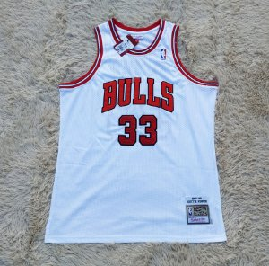 Camisa Chicago Bulls - Mitchell & Ness - 33 Scottie Pippen - Pronta Entrega