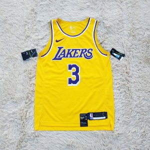 Camisa AUTHENTIC - Los Angeles Lakers - 3 Anthony Davis - Pronta Entrega