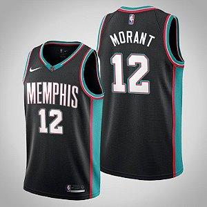 Camisa Memphis Grizzlies - Hardwood Classics -12 Ja Morant - 13 Jaren Jackson Jr.
