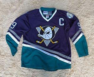 Camisa Anaheim Ducks - Super Patos - 9 Paul Kariya - Pronta Entrega - Tamanho 54