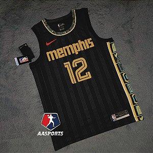 Camisa Memphis Grizzlies City Edition - 12 Ja Morant - 13 Jaren Jackson Jr. - escolha qualquer jogador do time