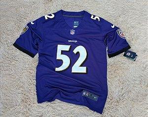 Camisa Baltimore Ravens - 52 Ray Lewis - Pronta Entrega