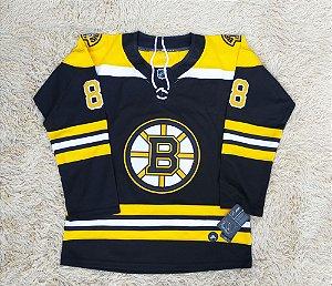 Camisa Boston Bruins -- 88 David Pastrnak - Pronta Entrega