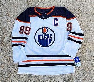Camisa Edmonton Oilers - 97 Connor McDavid - Pronta Entrega