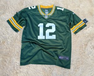 Camisa Green Bay Packers - 12 Aaron Rodgers - Pronta Entrega