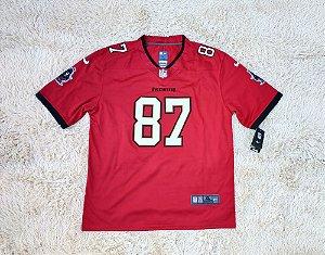 Camisa Tampa Bay Buccaneers - 87 Rob Gronkowski - Pronta Entrega