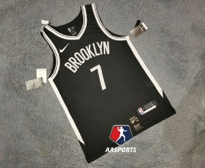 Camisa Brooklyn Nets - Authentic Jersey -  7 Kevin Durant - 13 James Harden - 11 Kyrie Irving - personalizada - escolha qualquer jogador do time