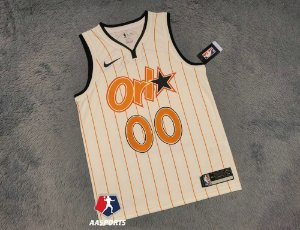 Camisa Orlando Magic - City Edition - 00 Aaron Gordon - 32 Shaquille O'Neal - 1 Penny Hardaway - escolha qualquer jogador do time