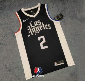 Camisa LA Clippers - 2 Kawhi Leonard - 13 Paul George - escolha qualquer jogador do time