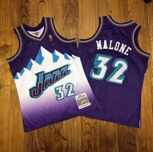 Camisa Utah Jazz - 12 John Stockton - 32 Karl Malone - Mitchell and Ness