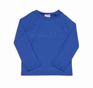 Camisa manga longa com FPU 50+ Azul Royal - Ecobabies