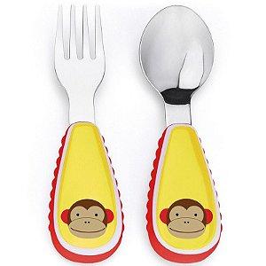 Kit de talheres zoo macaco - SKIP HOP