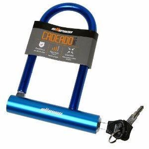 Cadeado / Trava U-lock Elleven azul 140X210mm