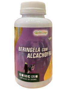 BERINJELA COM ALCACHOFRA 500 MG VERDES VIDA