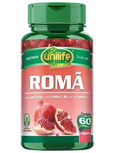 ROMÃ 500 MG 60 CÁPSULAS UNILIFE