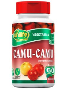 CAMU-CAMU 500MG 60 CÁPSULAS UNILIFE