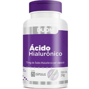 ACIDO HIALURÔNICO 60 CÁPSULAS 75MG DUOM