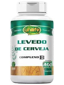 LEVEDO DE CERVEJA COMPLEXO ''B'' 400 COMPRI UNILIFE