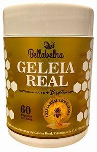 GELEIA REAL COM VITAMINAS 60 CÁPSULAS 250MG BELLABELHA