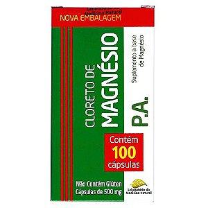 Cloreto de Magnésio PA 500mg - 100 Cápsulas - Medinal
