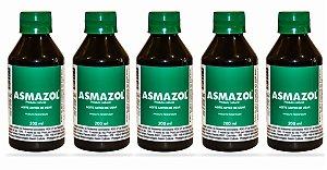 Asmazol Liquido - 5 frascos de 200ml