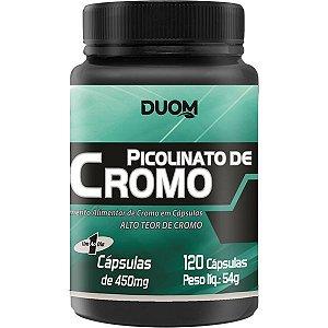 PICOLINATO DE CROMO 120 CÁPSULAS DUOM 450mg